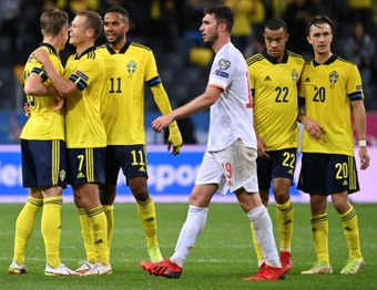 Qualifs Mondial-2022: l'Espagne douchée par le jeune duo suédois Isak - Kulusevski