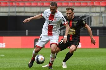 OFFICIEL : Dijon acte sa relégation en Ligue 2. AFP