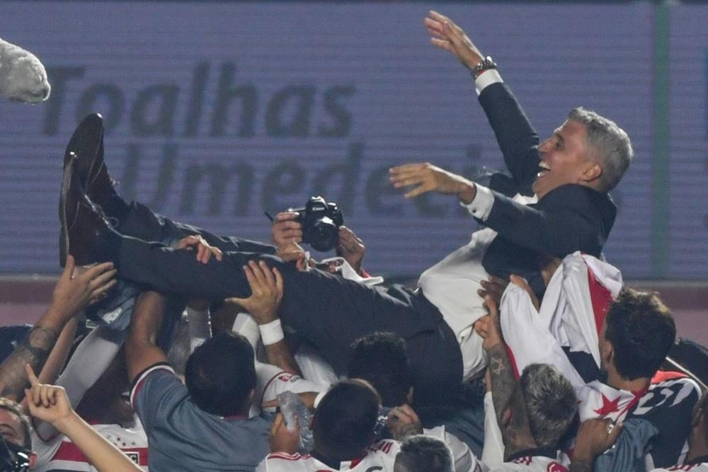 Crespo met fin à la disette du Sao Paulo FC. afp