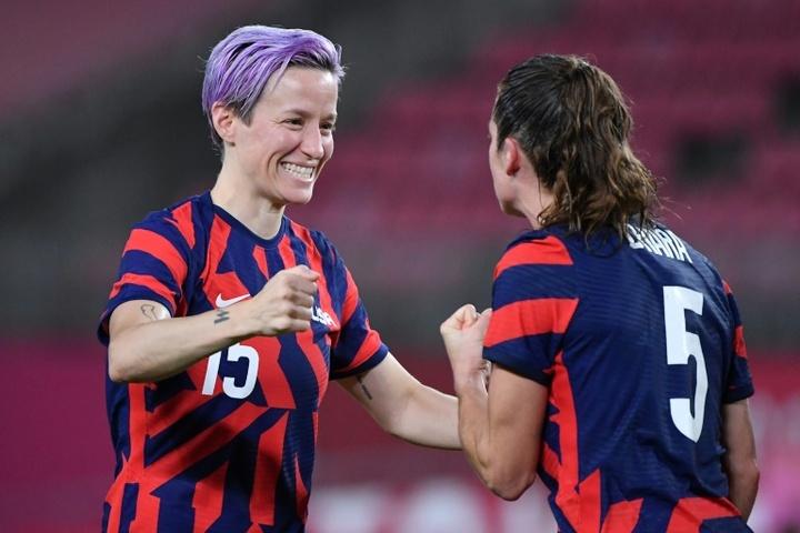 Les féminines des États-Unis ont obtenu le bronze aux JO. AFP