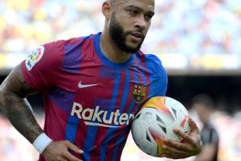 C1: Depay, l'atout maître d'un Barça dos au mur. AFP