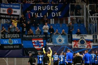 Bruges gagne à Leipzig et se place dans le groupe de la mort. afp