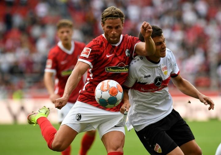 Le Bayer Leverkusen et Fribourg prennent provisoirement la tête. AFP
