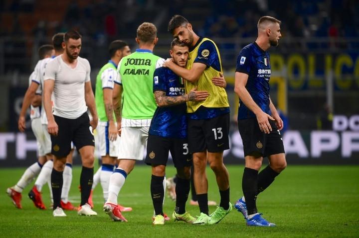 Choc sans vainqueur entre Inter et Atalanta, AC Milan en tête. AFP