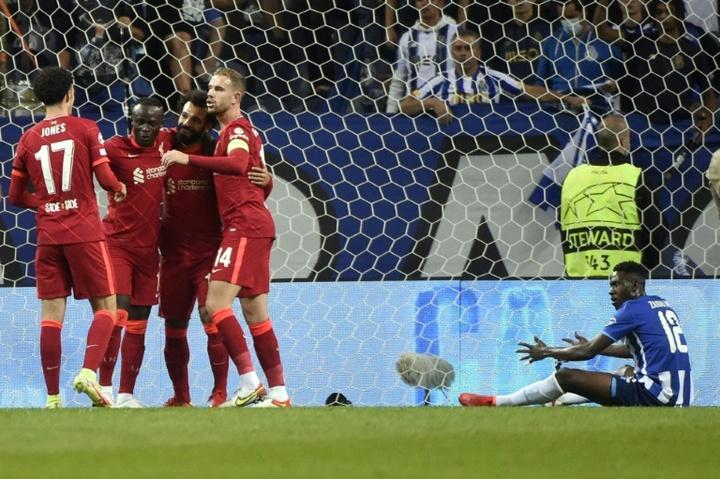 Irrésistible, Liverpool écrase le FC Porto. Afp