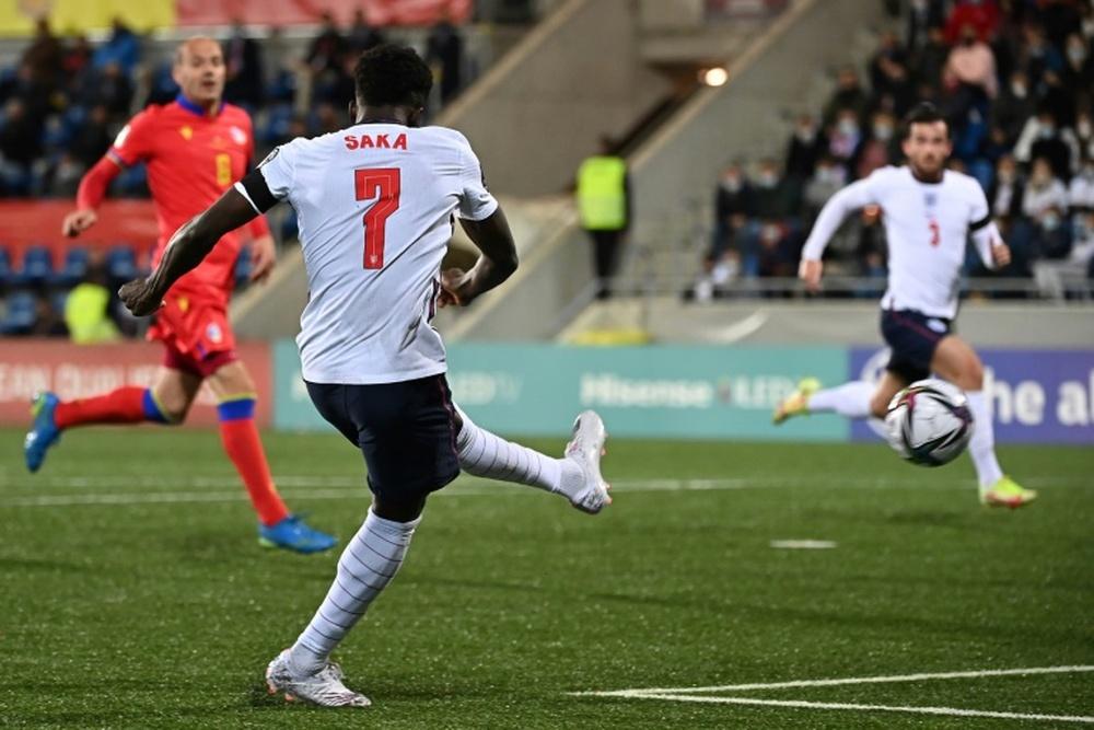 Angleterre engrange en Andorre. AFP