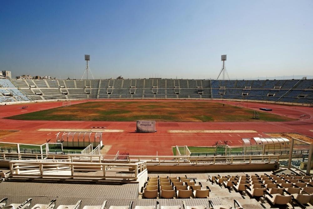Dans un Liban en crise, les sites sportifs abandonnés et en pleine désuétude. afp