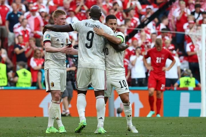 La Belgique retrouve son carré d'as avant les huitièmes. AFP
