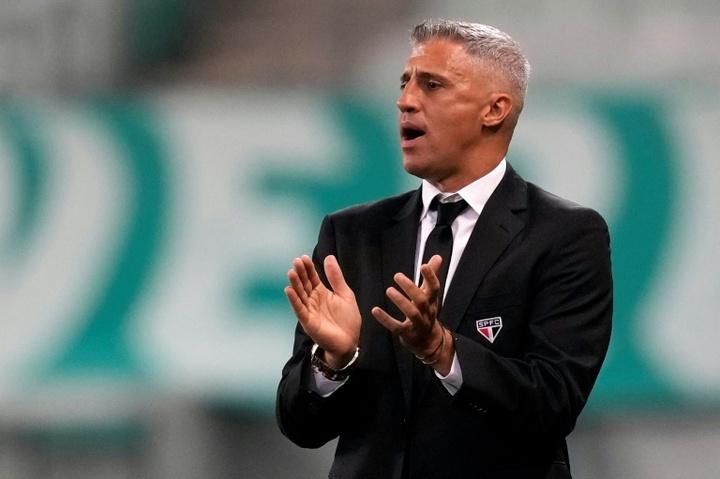 Clap de fin pour Crespo à Sao Paulo, remplacé par Rogerio Ceni. AFP