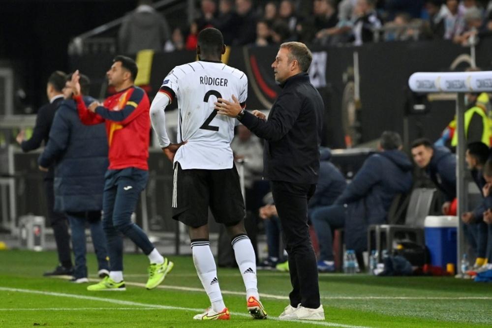 L'Allemagne et le Danemark entrevoient la qualification. AFP