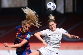 Kheira Hamraoui, objectif 'finale' pour l'exception française. AFP