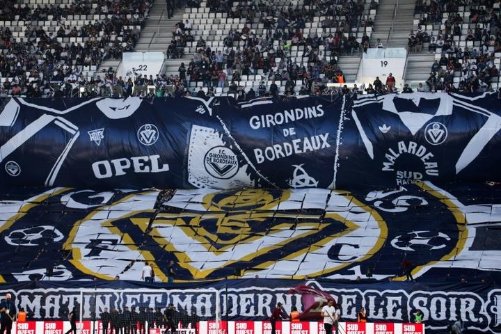 Les 140 ans des Girondins à moitié gâchés par Nantes. AFP