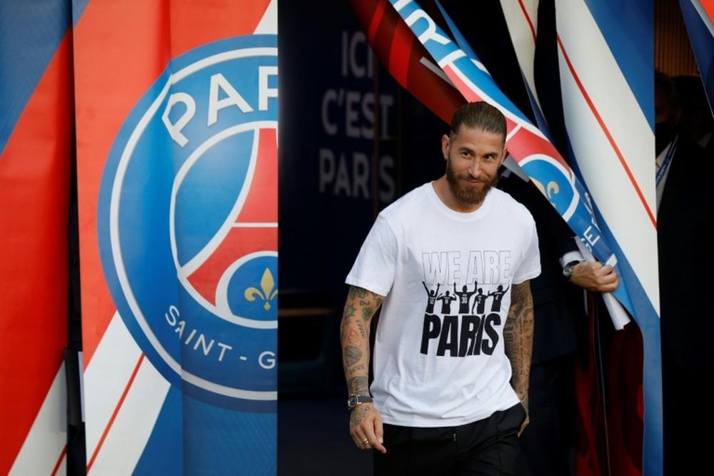 Ramos, le patient espagnol qui fait s'impatienter le Paris SG. AFP