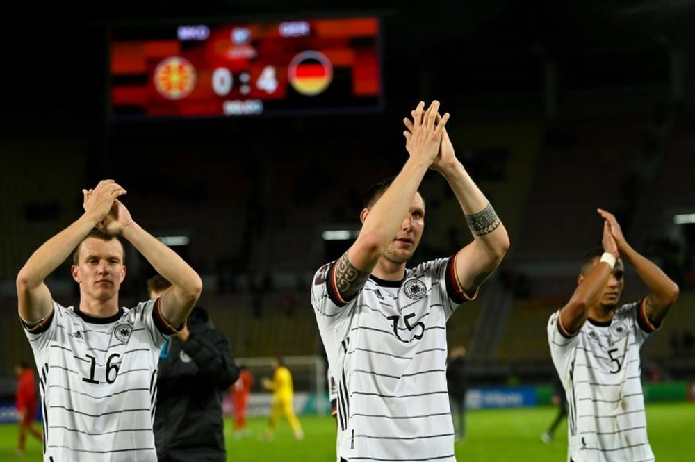 Mondial 2022: l'Allemagne au Qatar, les Pays-Bas s'en rapprochent.