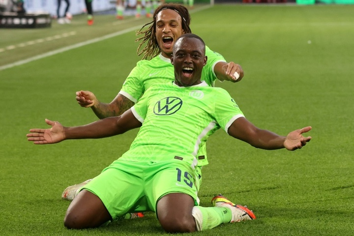 Wolfsburg seul en tête après sa victoire face à Leipzig. AFP