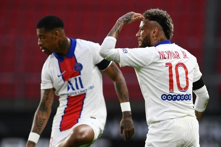 Suspensions de Neymar et Kimpembe confirmées. afp