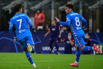 Avec Griezmann et Suarez, l'Atlético vient à bout de Milan. afp