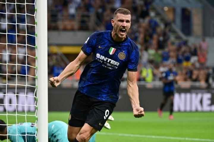 L'Inter démarre la défense du titre en quatrième vitesse. AFP