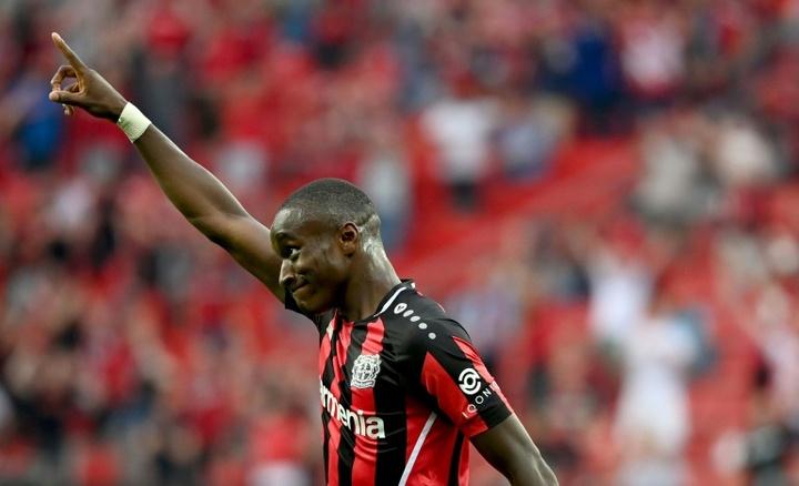 Moussa Diaby veut 'taper dans l'oeil' des Bleus. AFP