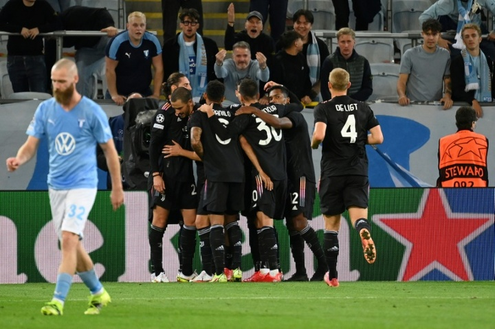 La Juventus lance sa saison à Malmö. afp