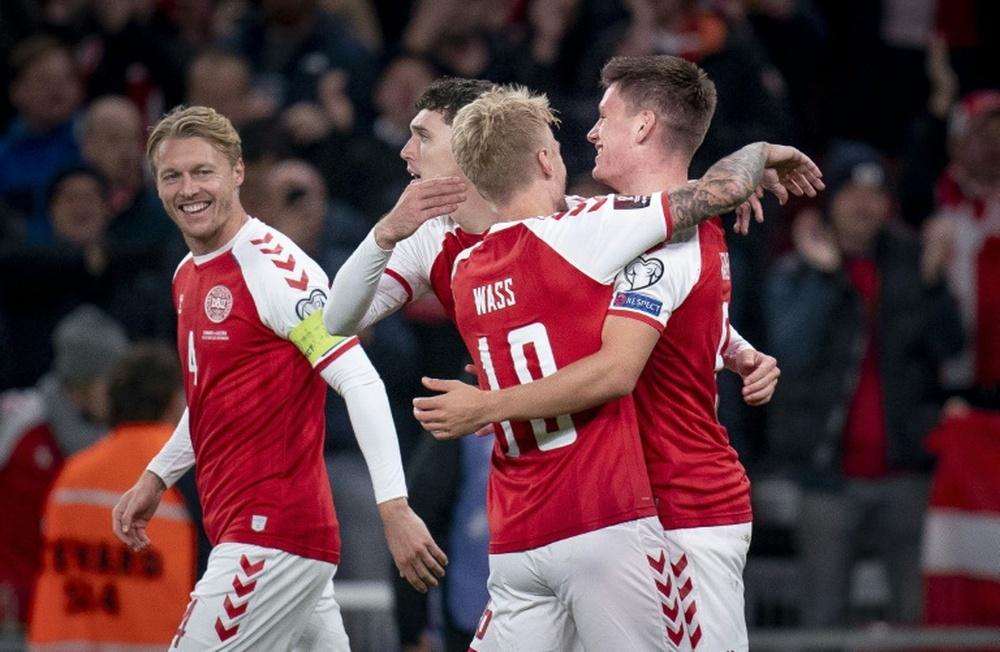 La belle histoire du Danemark se poursuit. AFP