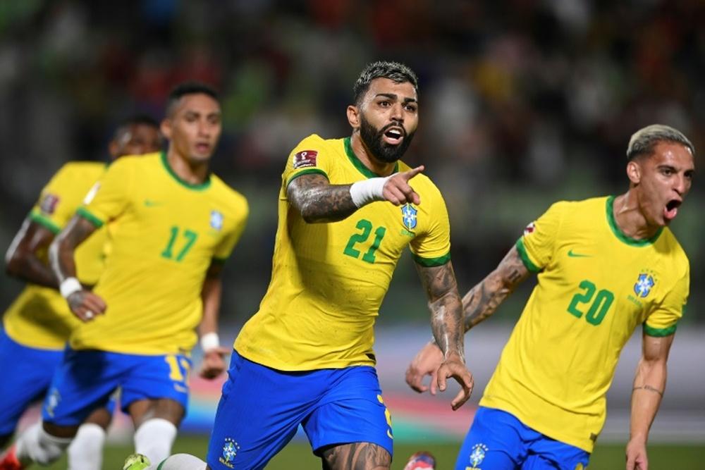 Le Brésil intouchable, l'Argentine ralentie. AFP
