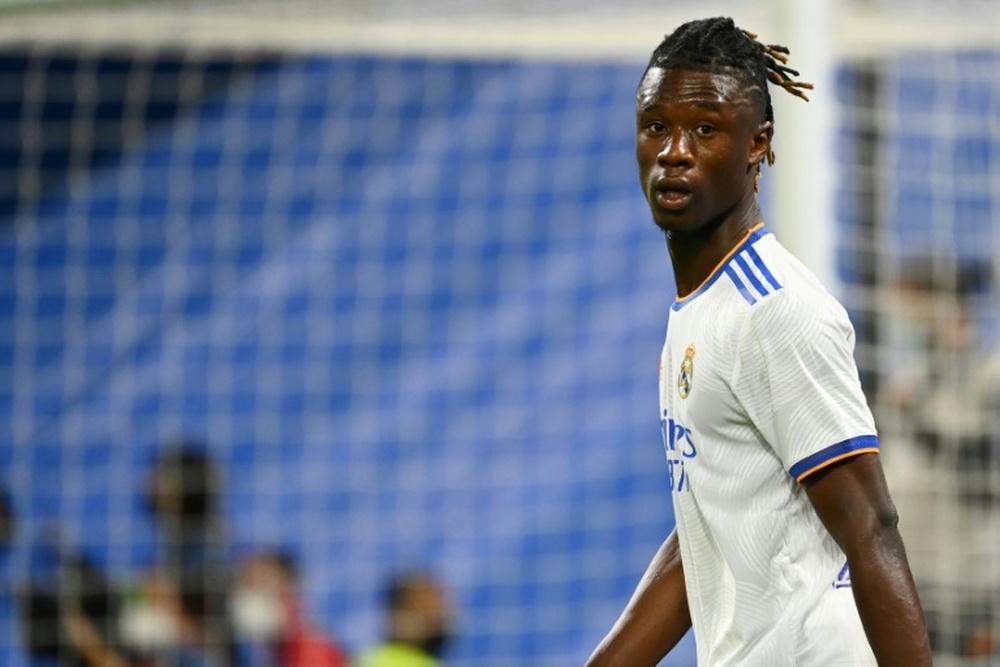 France: Camavinga forfait avec les Espoirs. AFP