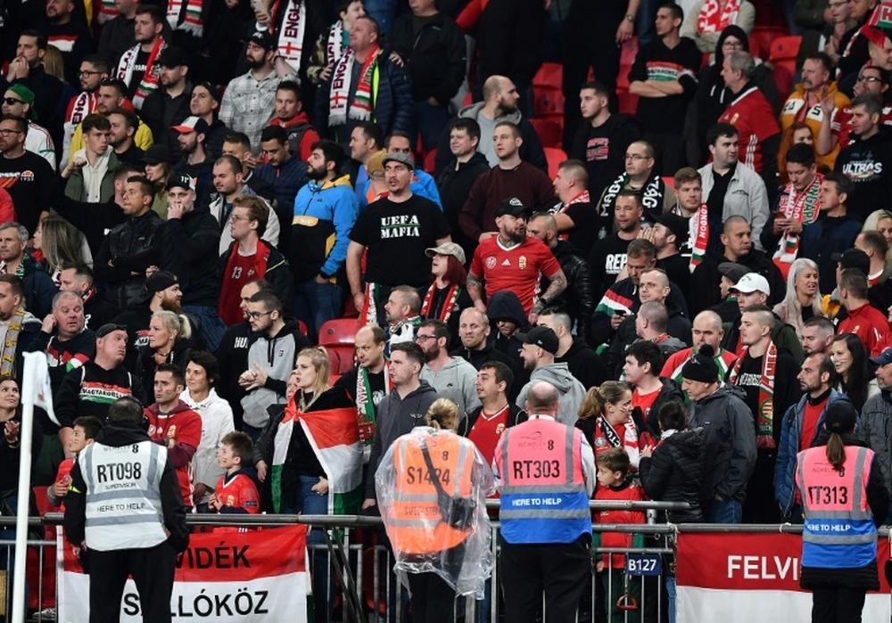 Mondial-2022: brève échauffourée entre supporters hongrois et la police anglaise