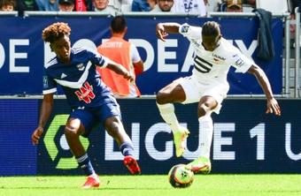 Mexer sauve Bordeaux, Rennes peut s'en vouloir. AFP