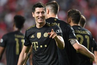 Le Bayern Munich écrase le Benfica. AFP