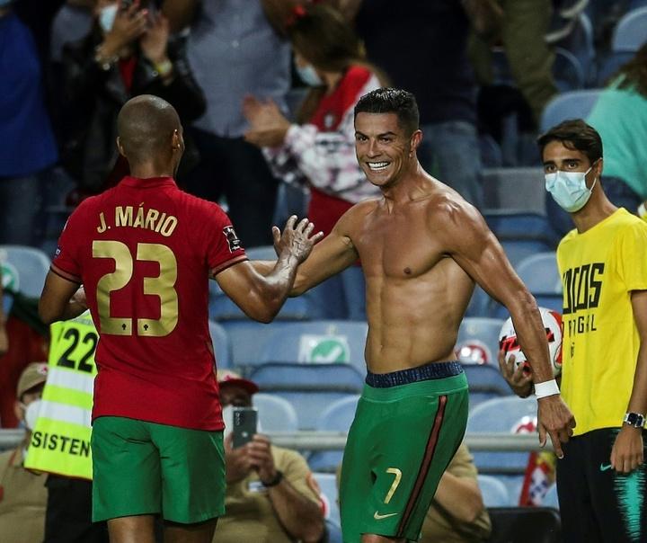 Ronaldo fait gagner le Portugal, la France stagne. AFP