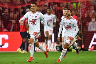 Lille piétine face à Brest (1-1). AFP