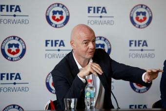 La Fifa sonde les sélectionneurs cette semaine. AFP