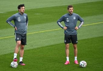 L'Allemagne sans Hummels mais avec Müller et ter Stegen pour les prochains matches. AFP
