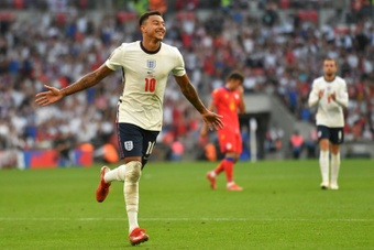 L'Angleterre l'emporte facilement contre Andorre. AFP