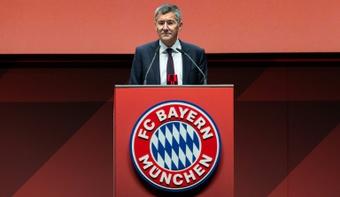 Le président du Bayern opposé à une Coupe du monde biennale. afp