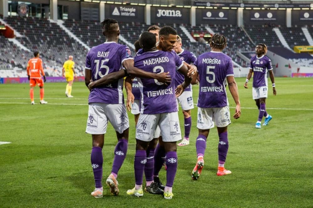 Toulouse leader de Ligue 2, en attendant le Paris FC. AFP