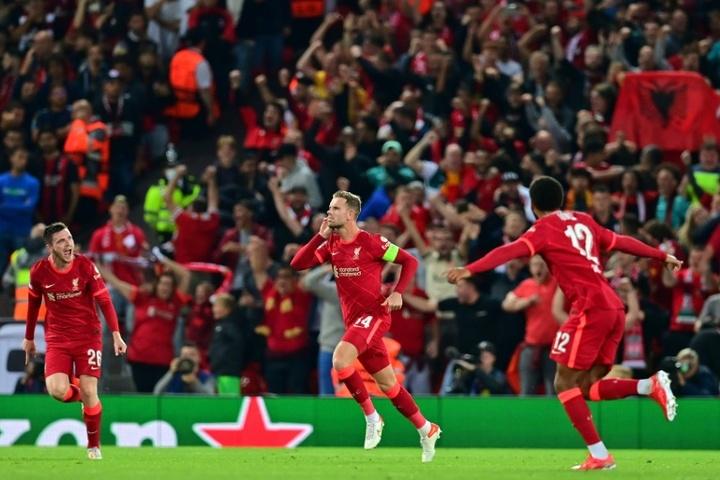 Sur courant alternatif, Liverpool finit par dompter Milan. AFP