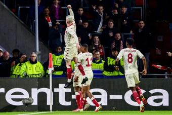 Monaco fait un gros coup à Eindhoven. afp