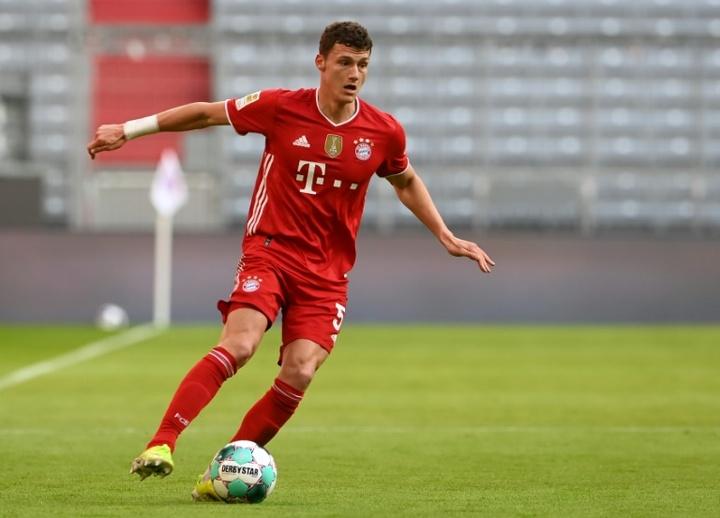 Pavard, forfait pour le premier match de la saison du Bayern. AFP