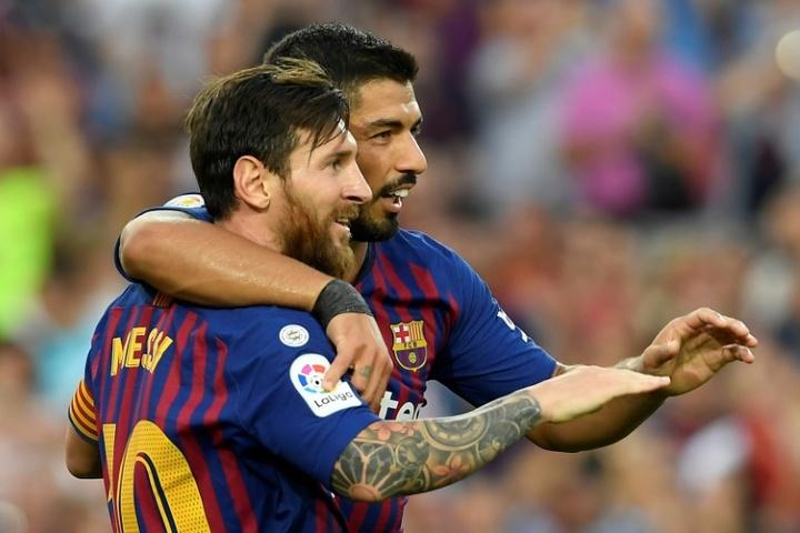 Espagne: Suarez-Messi, des retrouvailles entre amitié et rivalité