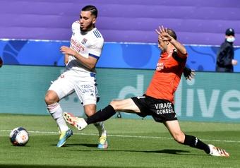 Les Lyonnais Cherki et Gusto appelés pour la première fois. AFP