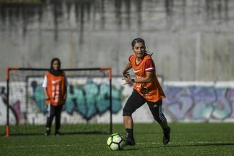 Des footballeuses afghanes se réfugient au Portugal où elles ont pu rejouer. AFP