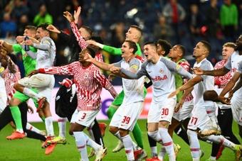 Lille mal embarqué après sa défaite à Salzbourg. AFP
