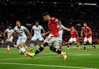 Manchester United se rate, Chelsea a tremblé. AFP
