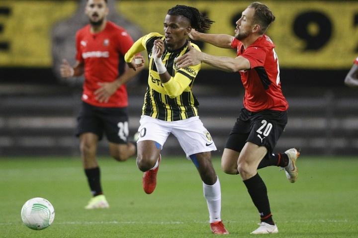 Un Rennes à deux Vitesse s'impose à Arnhem. AFP
