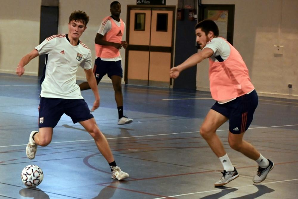 Lyon et l'OL foncent sur le futsal. AFP