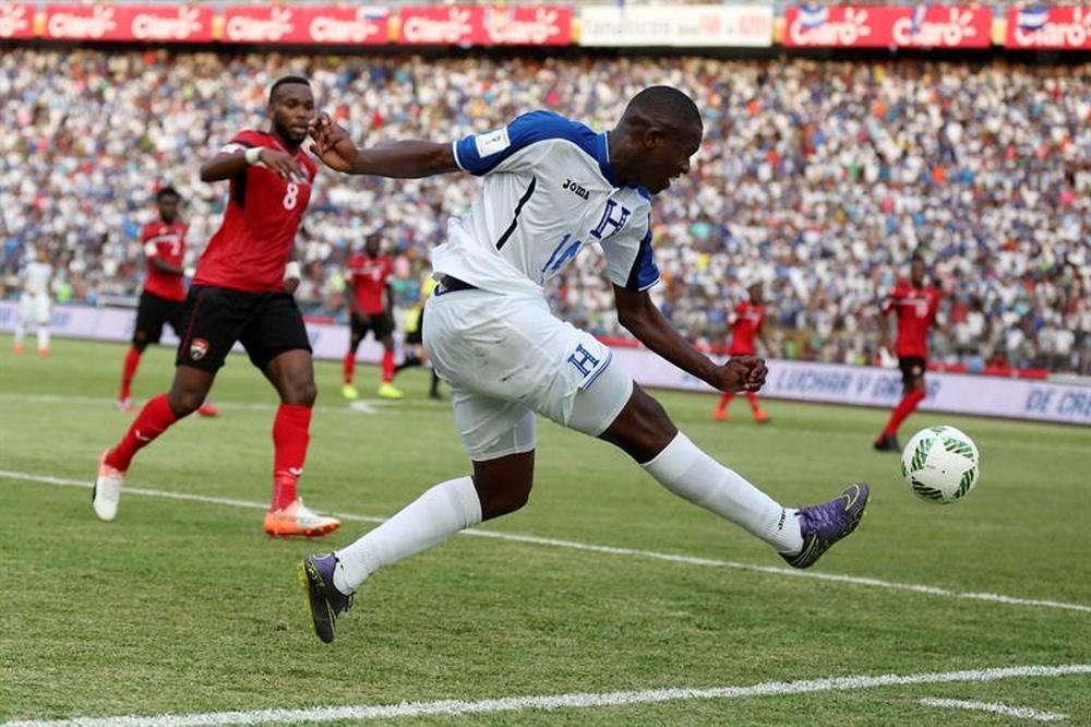 Honduras venció por 3-1 a Trinidad y Tobago. EFE