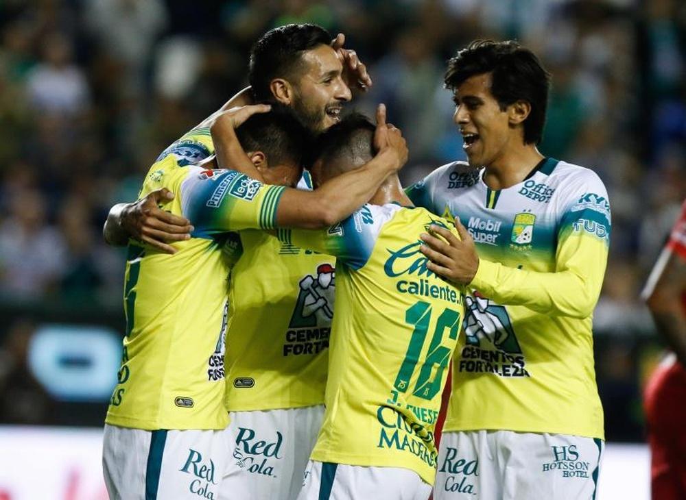 León confirmó su pase a la liguilla. EFE/Luis Ramírez