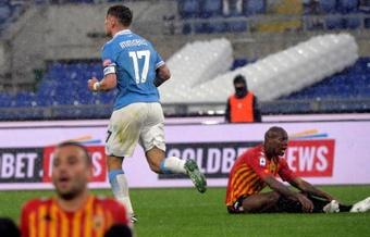 Importante triunfo para la Lazio. EFE